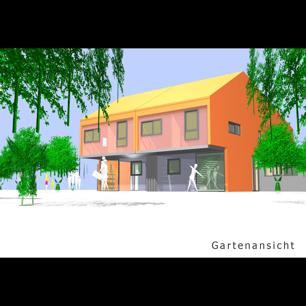 Architekturbüro Sindelfingen doppelhaus in stadtrandlage sindelfingen mrm a freier