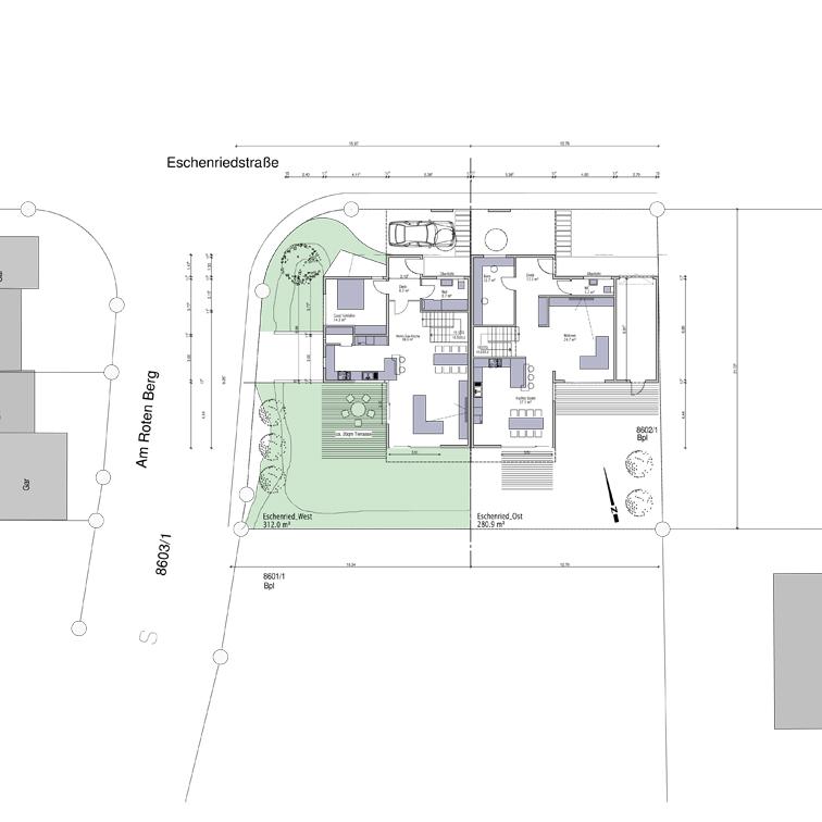 Architekt Sindelfingen doppelhaus in stadtrandlage sindelfingen mrm a freier